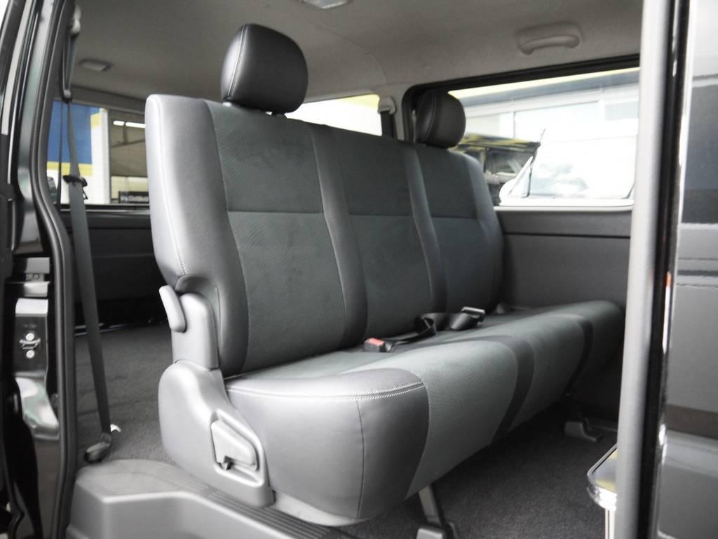 後席シートベルトも標準装備!チャイルドシートの取付もOK!   トヨタ ハイエースバン 2.0 スーパーGL ロング TSSP