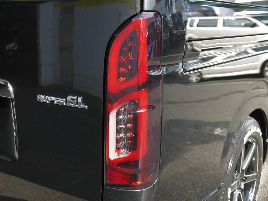 コーリン【シャークベンチュリイー】LEDテール! | トヨタ ハイエースバン 3.0 スーパーGL  ダークプライム ロングボディ ディーゼルターボ Ver4DP