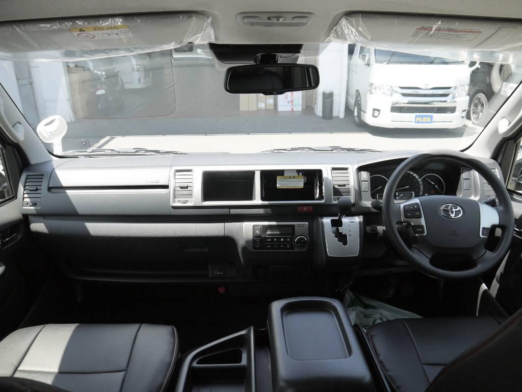 各種追加カスタムも大歓迎です。お気軽にご相談下さい。 | トヨタ ハイエース 2.7 GL ロング ミドルルーフ ラウンジ5α