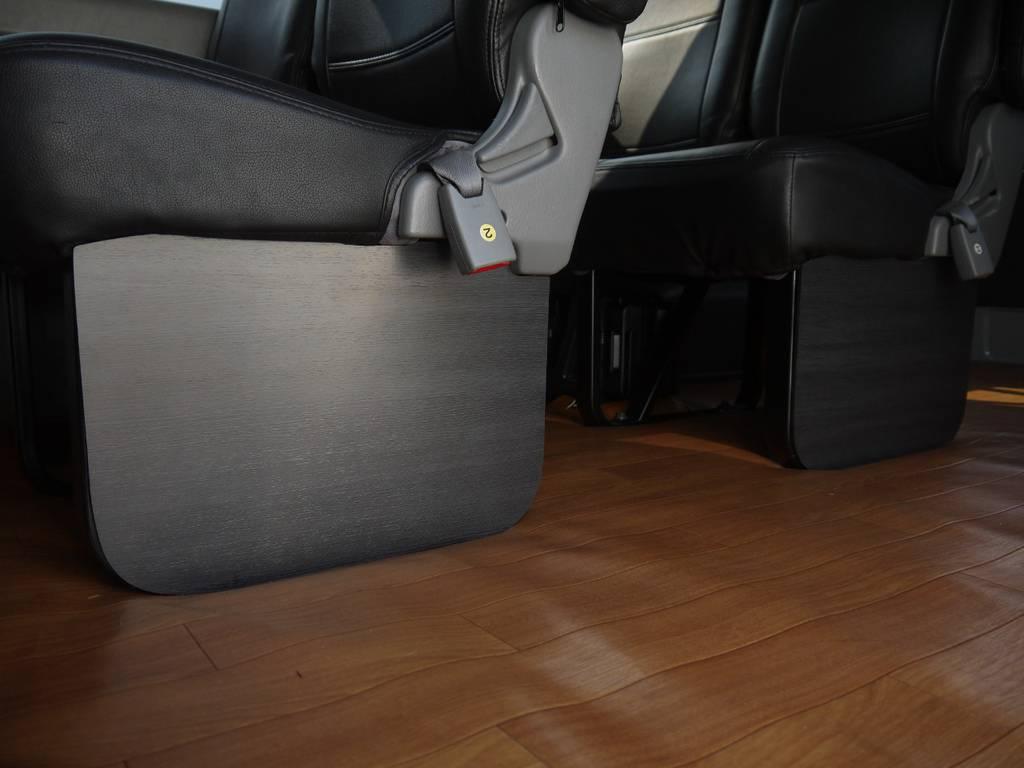 FLEXインテリアフットパネル装着! | トヨタ ハイエース 2.7 GL ロング ミドルルーフ