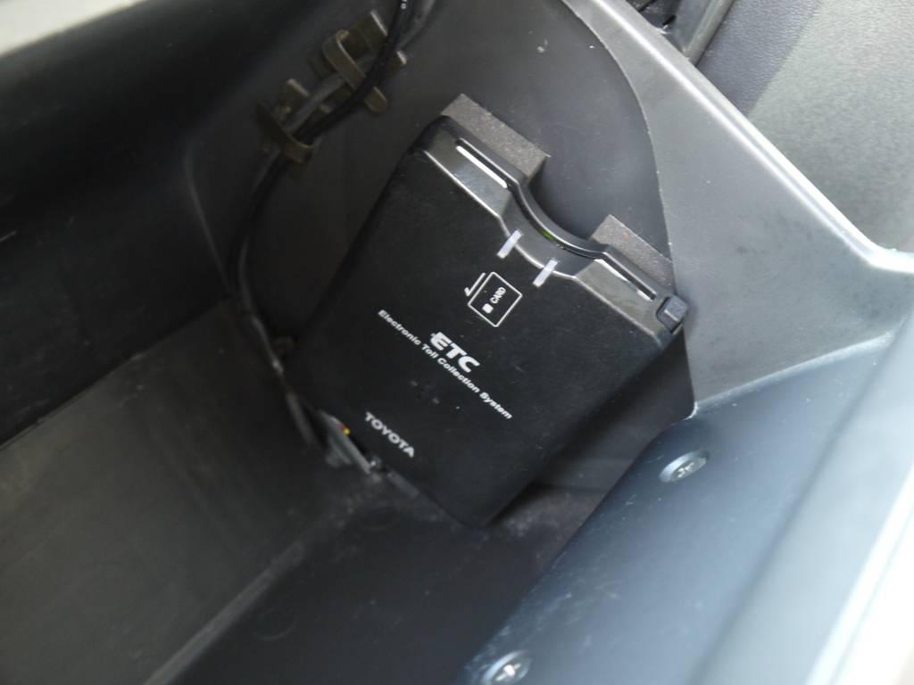 ETCも完備しております。 | トヨタ ハイエース 2.7 GL ロング ミドルルーフ