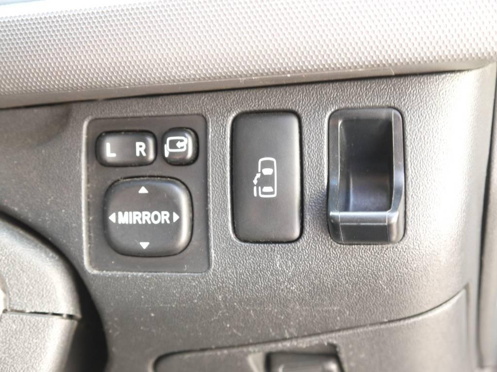 新車時メーカーオプションのパワースライドドア完備! | トヨタ ハイエース 2.7 GL ロング ミドルルーフ