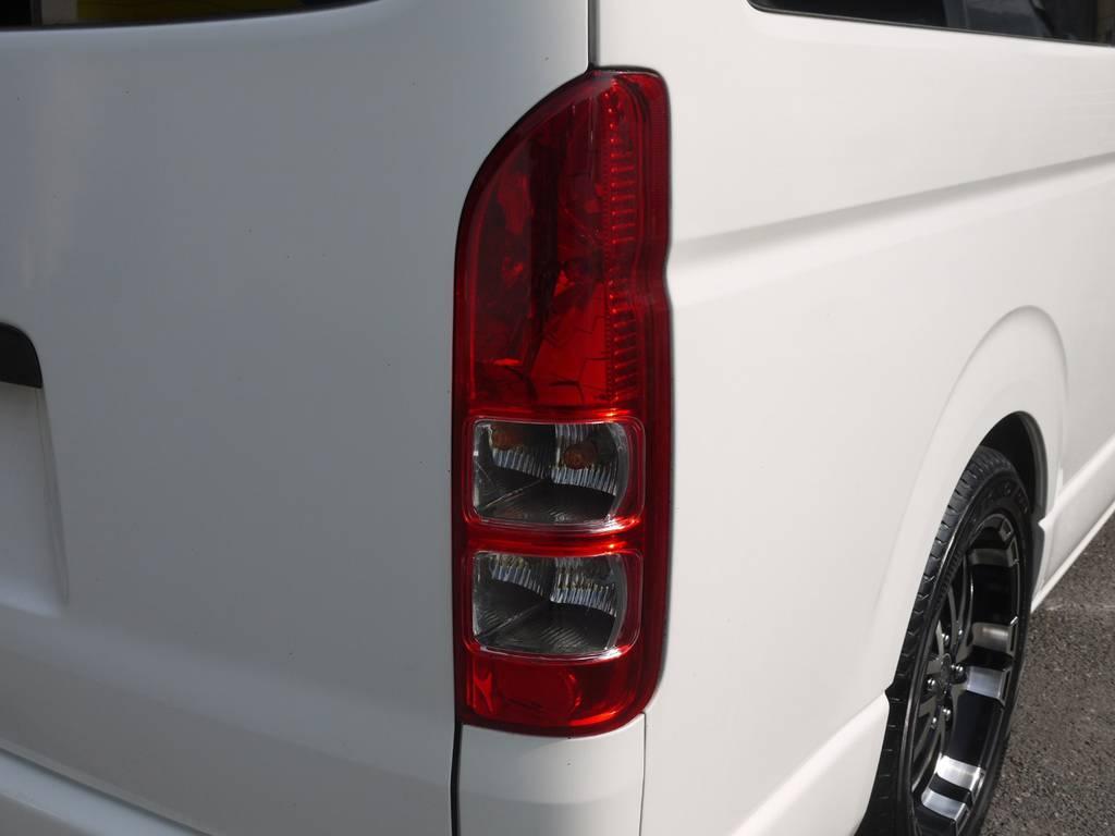 LEDテール等の追加カスタムも大歓迎♪ | トヨタ ハイエース 2.7 GL ロング ミドルルーフ