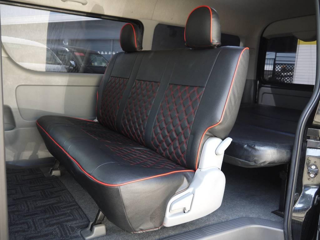 後席シートベルトのお取り付けも可能です。お気軽にご相談下さい。
