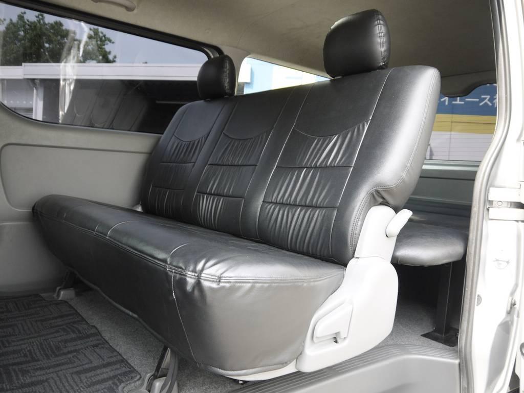 クッション性に優れたGLシート!長距離ドライブも快適です。