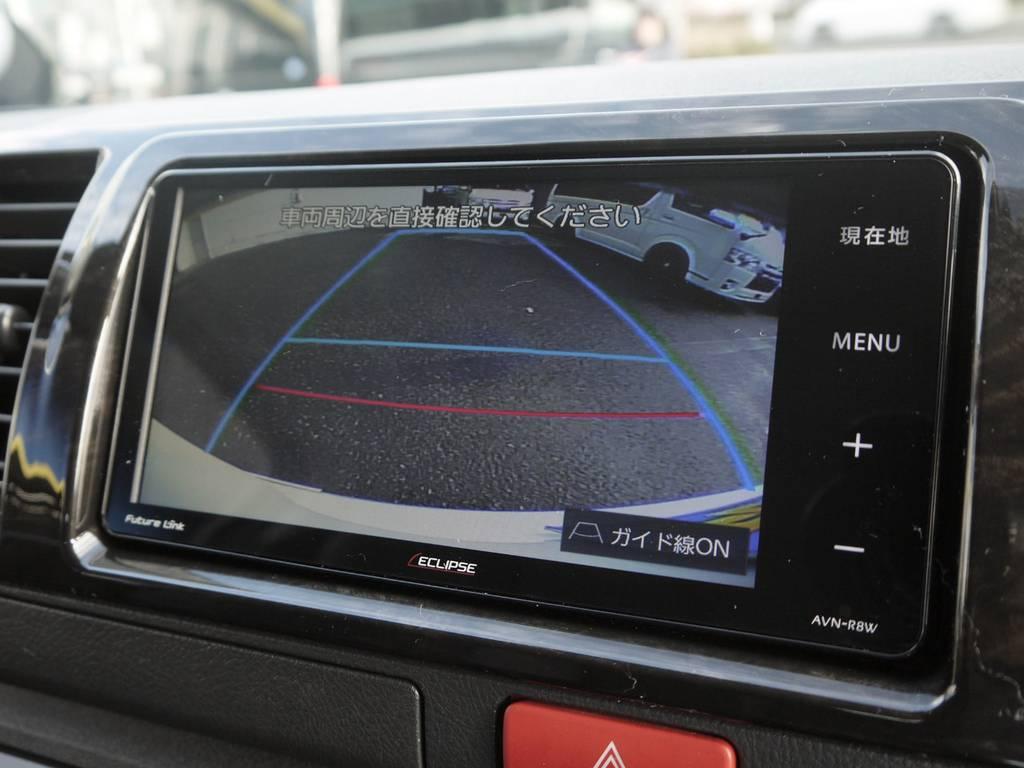 バックカメラナビ連動施工済み! | トヨタ ハイエースバン 2.8 スーパーGL ダークプライム ロングボディ ディーゼルターボ 4WD TSSP