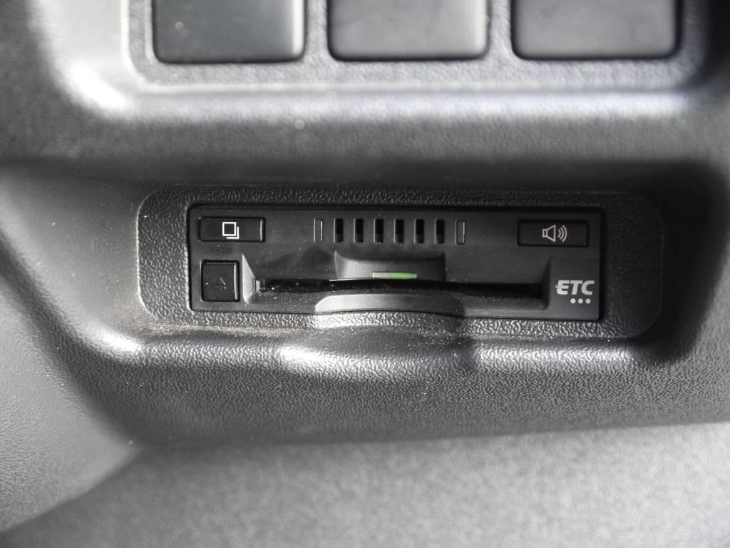 ビルトインETCも完備しております。 | トヨタ ハイエースバン 2.8 スーパーGL ダークプライム ロングボディ ディーゼルターボ 4WD TSSP