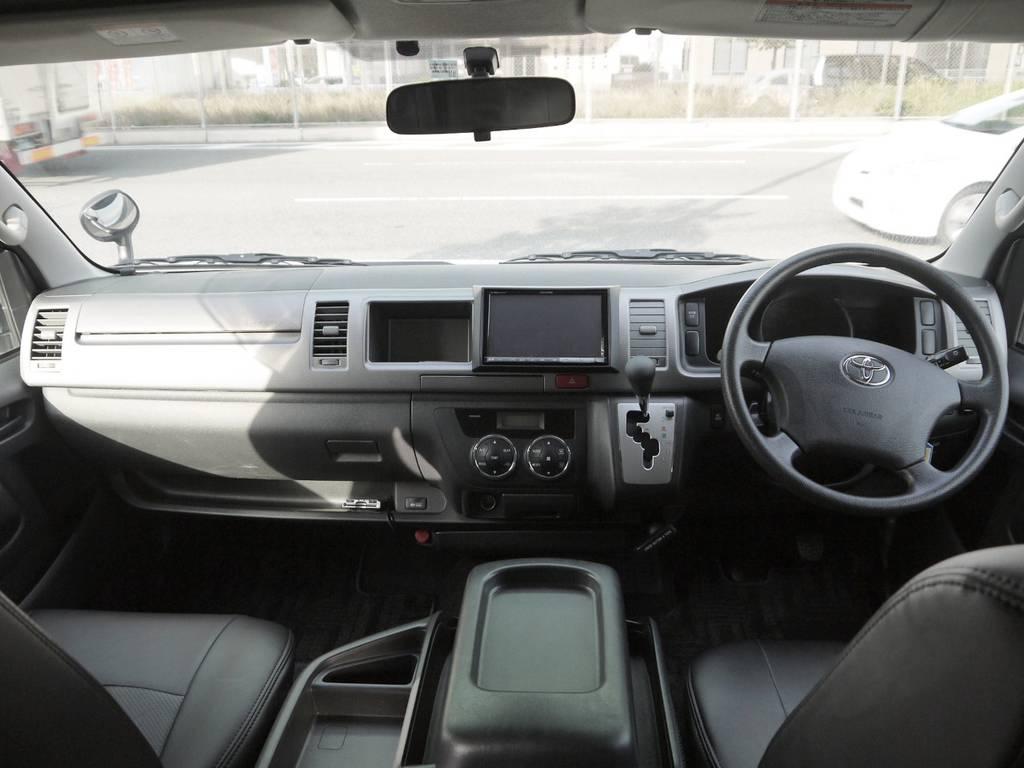 各種追加カスタムも大歓迎です♪お気軽にお問い合わせ下さい! | トヨタ ハイエース 2.7 GL ロング ミドルルーフ BIGX8インチナビ