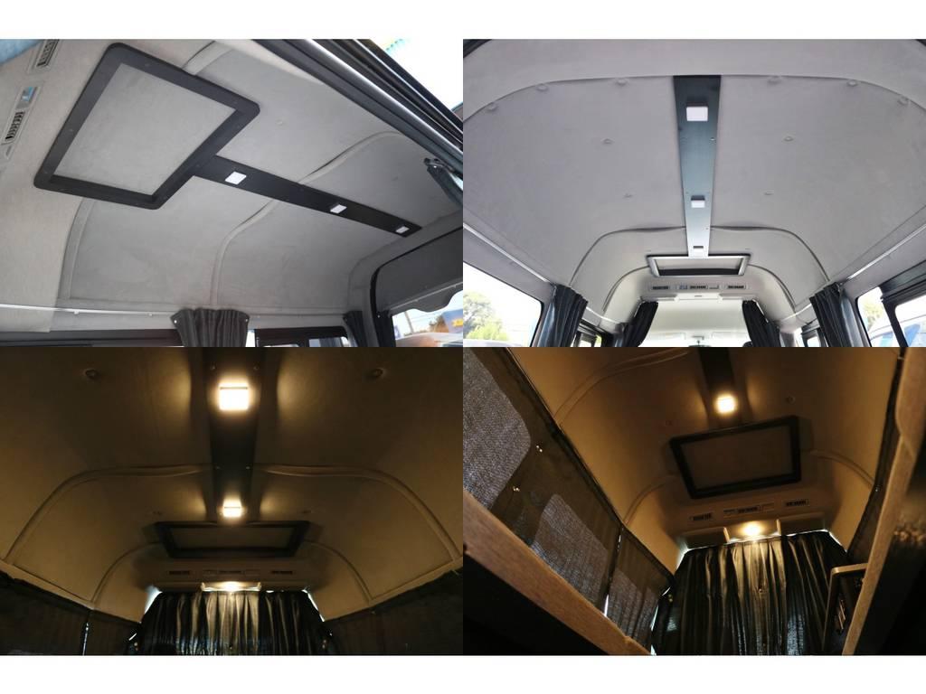 天井&壁面断熱処理済み!間接照明も標準装備!