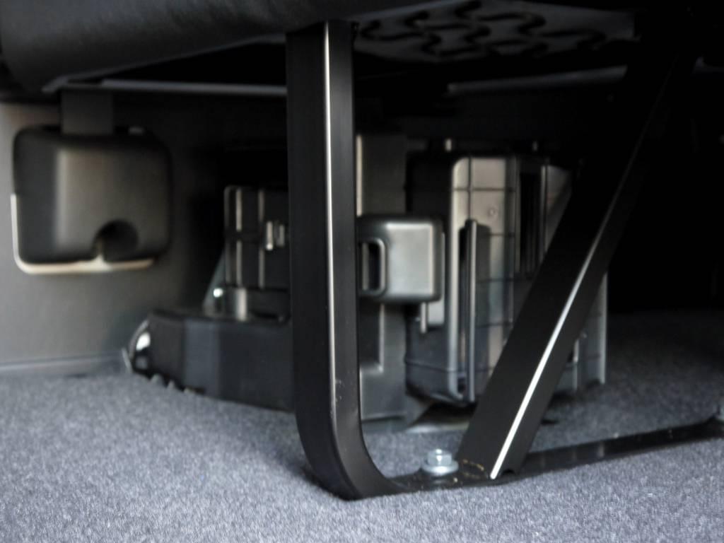 リアヒーターも標準装備。 | トヨタ ハイエースコミューター 2.8 GL ディーゼルターボ 3ナンバー乗用構造変更