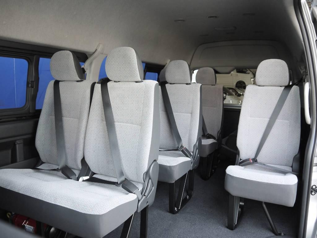 通常設定のない3ナンバーディーゼルワゴン!乗用登録構造変更車ですので普通免許で運転可能です。 | トヨタ ハイエースコミューター 2.8 GL ディーゼルターボ 3ナンバー乗用構造変更