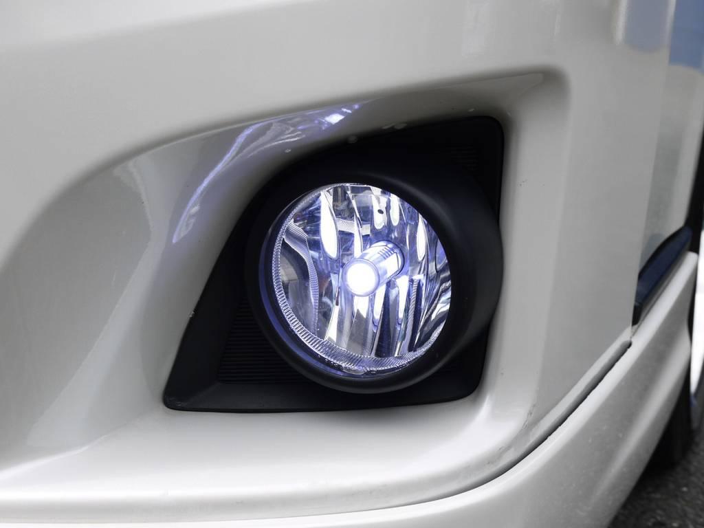 LEDフォグバルブ! | トヨタ ハイエース 2.7 GL ロング ミドルルーフ ベッドキットシートアレンジ