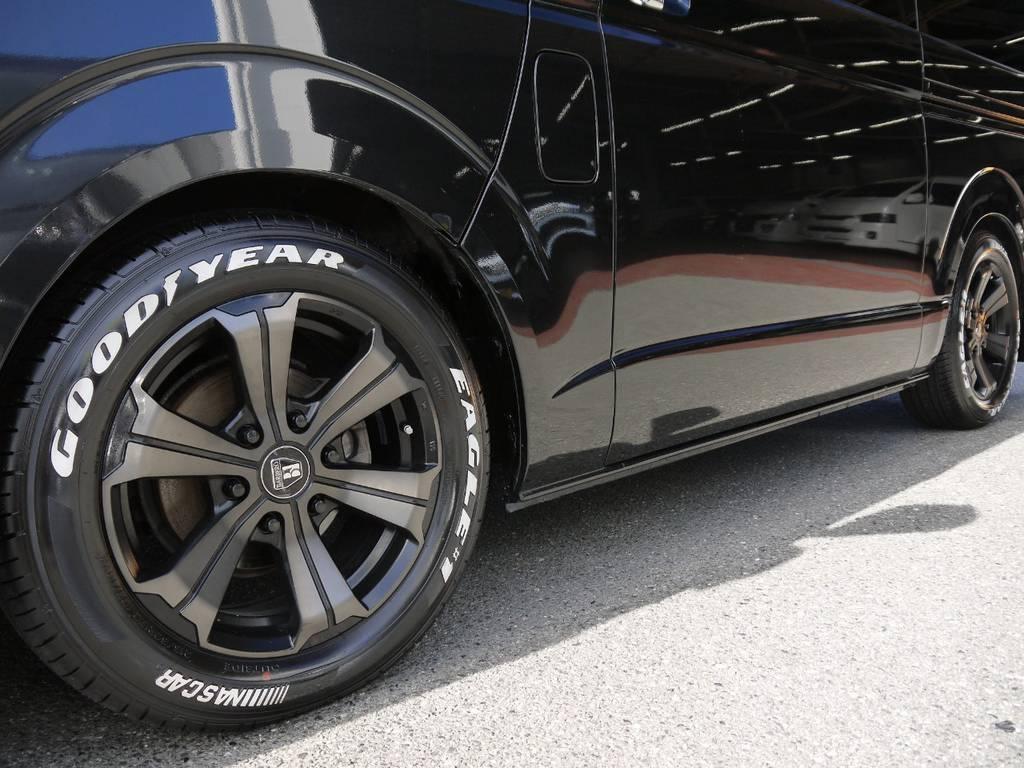 FLEX専用カラーバルベロアーバングランデ17inch&グッドイヤーナスカータイヤ!