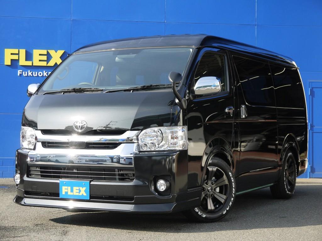 未登録新車ハイエースワゴンGL2.7G2WD!人気の室内架装車【FLEXアレンジR1】完成!