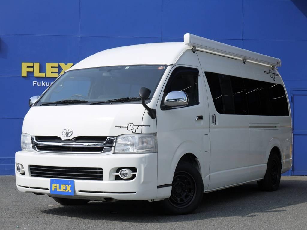 H22年キャンパー特装車2.7G2WD【トイファクトリーGT】7人乗り本格キャンピング!