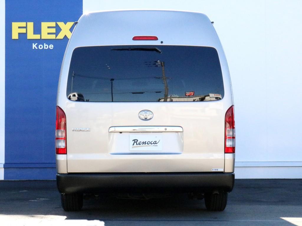 ハイエースをお探しならFLEX神戸店へ! 神戸店の展示車両は勿論の事、全国のFLEXが保有するハイエースの中から貴方にぴったりの一台をお探し致します!