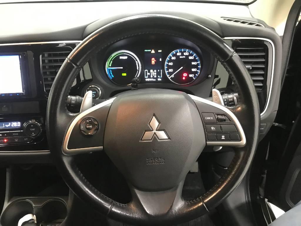 レーダークルーズコントロールも装備しています。前車の動きに合わせて自動で走行してくれるのは高速道路だと助かります。