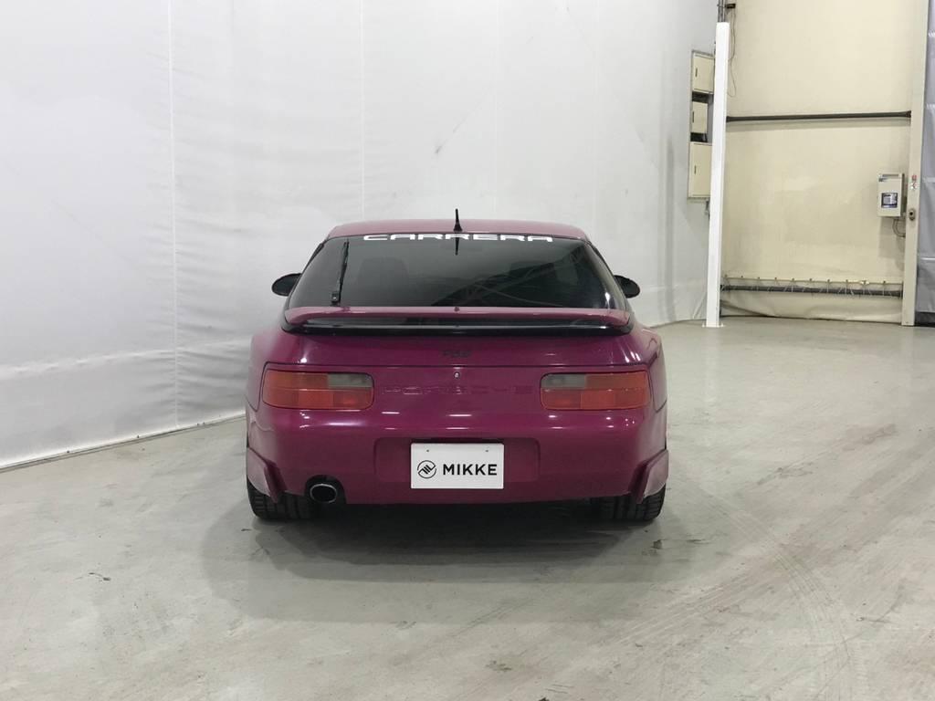 それにしてもこの色は奇抜です。個性がある車なのに更に個性を追求できるので面白いかもしれません。