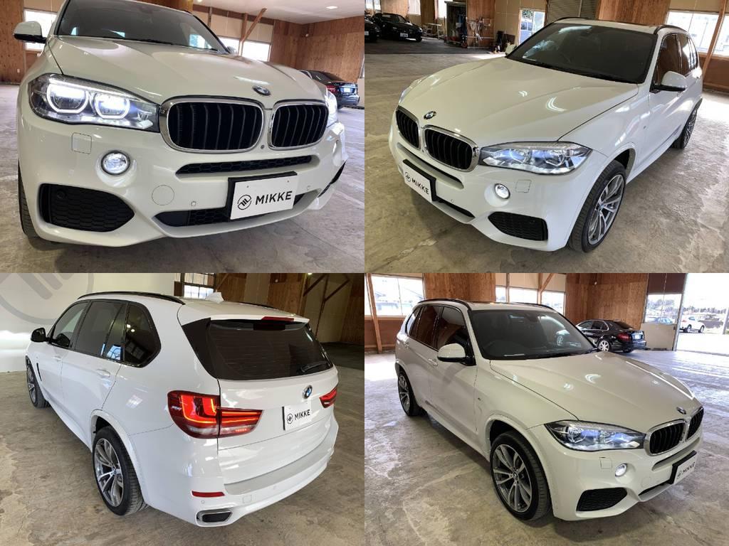 ここまでご覧いただきありがとうございます。BMWのSUVシリーズの集大成とも言えるX5。一度は乗りたいSUVに選ばれるなりの理由が存在しますので是非ご自身の目で確かめてください。