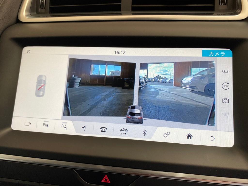 車両の周りのカメラの映像をナビにて見られます!