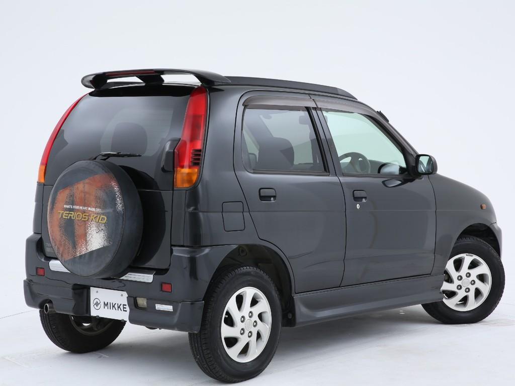 SUVタイプの軽自動車!2WDのお車となりますのでご注意ください!