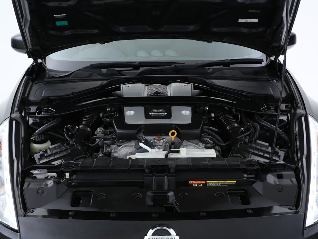 3700ccのVQエンジン!336ps(カタログ値)を発生します!