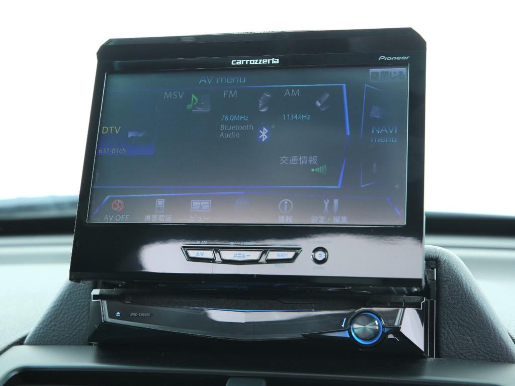 カロッツェリア HDDサイバーナビ!フルセグ地デジTV&Bluetooth機能付きです!