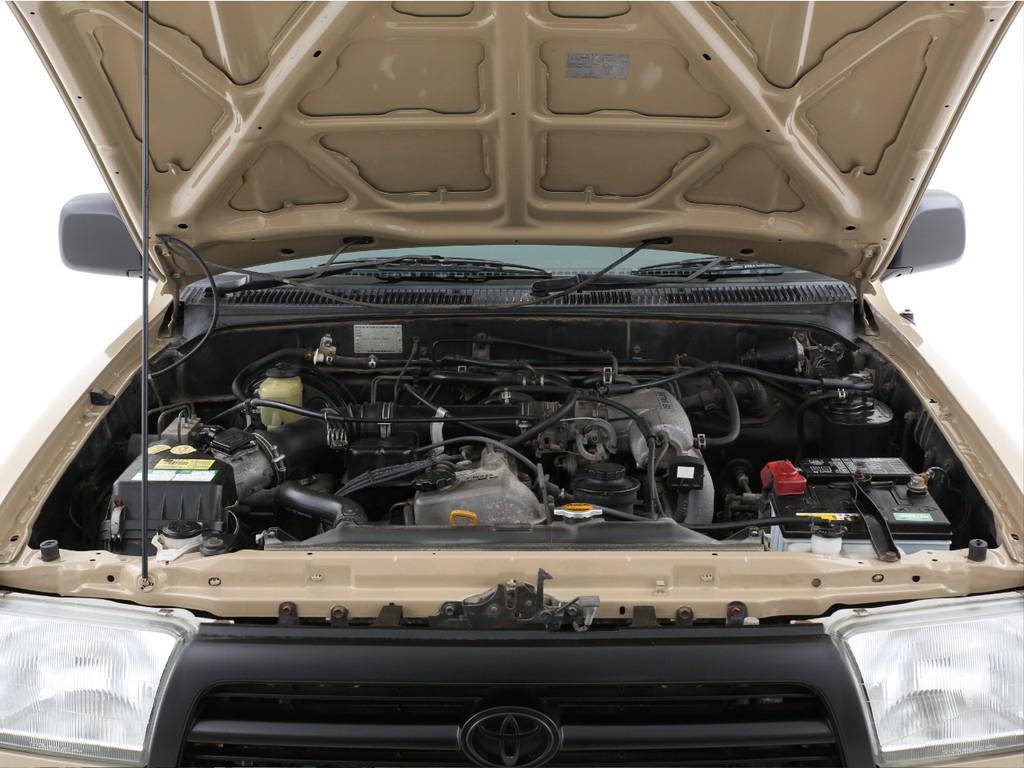 2700ccのガソリンエンジン!必要十分なパワーがございます!