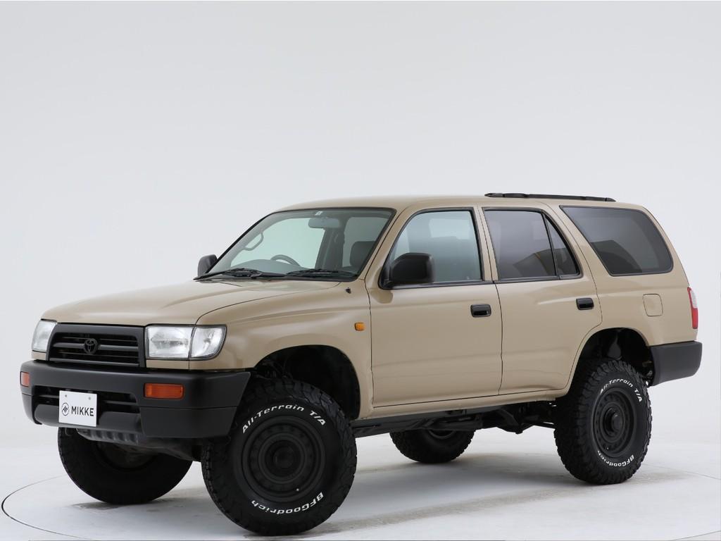 トヨタ ハイラックスサーフ 2.7 SSR-Vリミテッド 4WD 全塗装済車の入庫です!