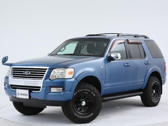 フォード エクスプローラー XLT アクアフィール 4WDの入庫です!