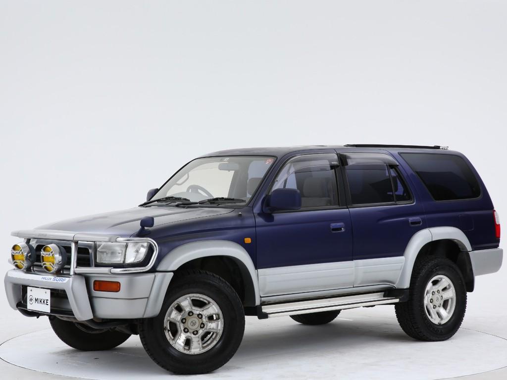 トヨタ ハイラックスサーフ 2.7 SSR-X ワイドボディー 4WDの入庫です!