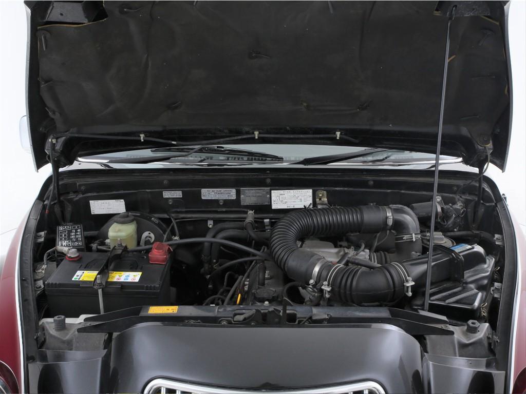 エンジンは2000ccのガソリン!ベースとなったハイラックスと同じエンジンです!