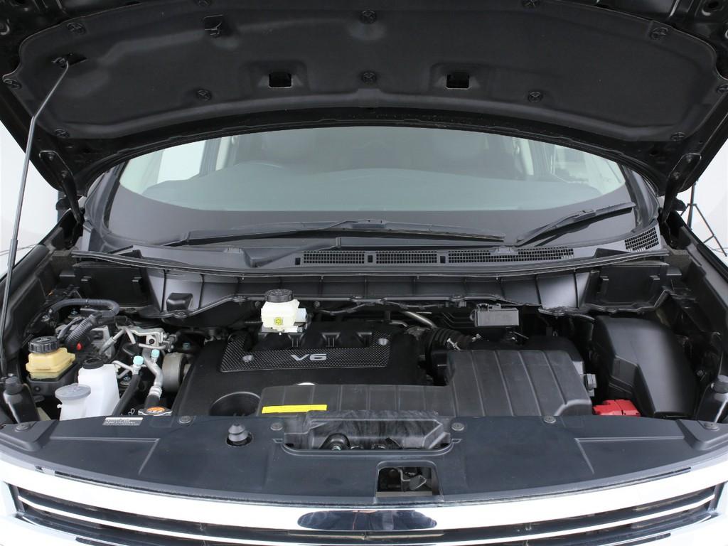 3500ccのVQガソリンエンジン!MTモード付きのCVTとの組み合わせです!