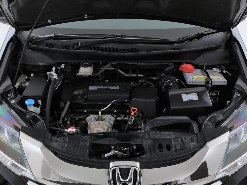 エンジンは2400ccのガソリン!ホンダ得意のiーVTECエンジンです!