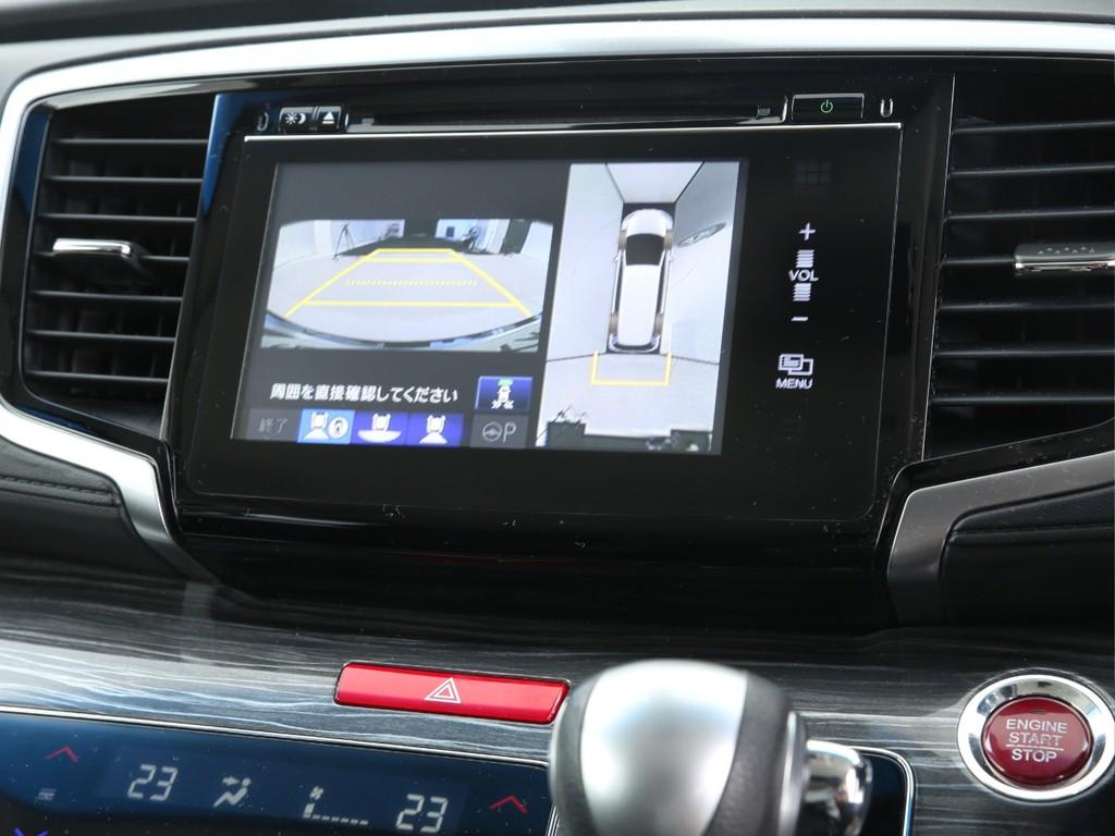 ホンダ純正ナビ付き!全周囲カメラ&フルセグ地デジTV&Bluetooth機能付きです!