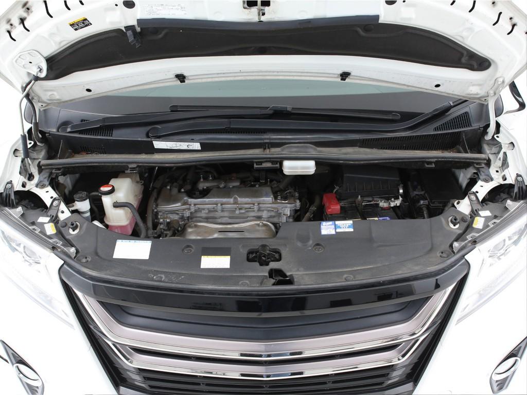 エンジンは2500ccのガソリン!最大182ps(カタログ値)を発生いたします!