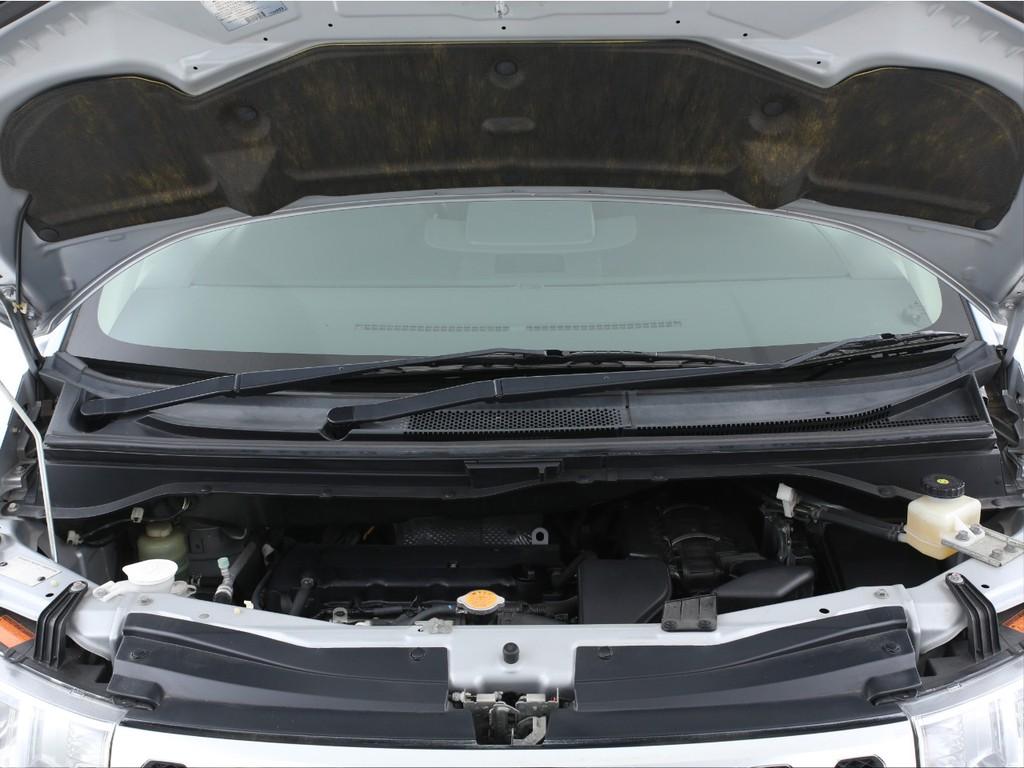 エンジンは2400ccのガソリン!CVTとの組み合わせとなります!