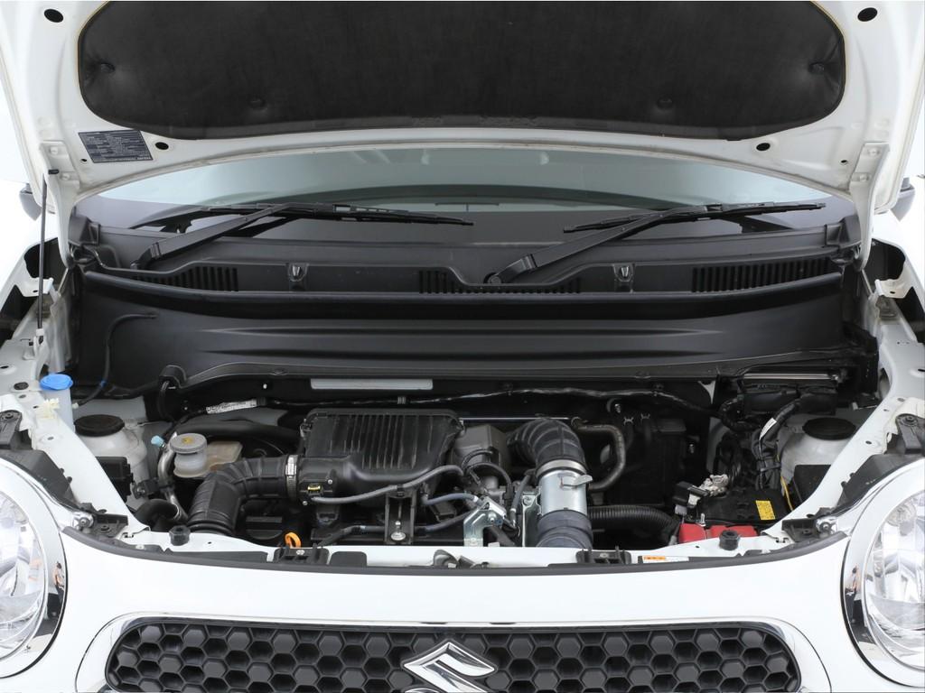 エンジンは1000ccのガソリンターボ!モーターとのハイブリットとなります!