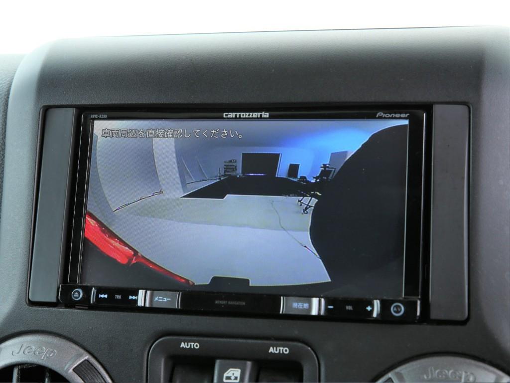 カロッツェリア製ナビ付き!フルセグ地デジTV&Bluetooth&バックカメラ付きです!