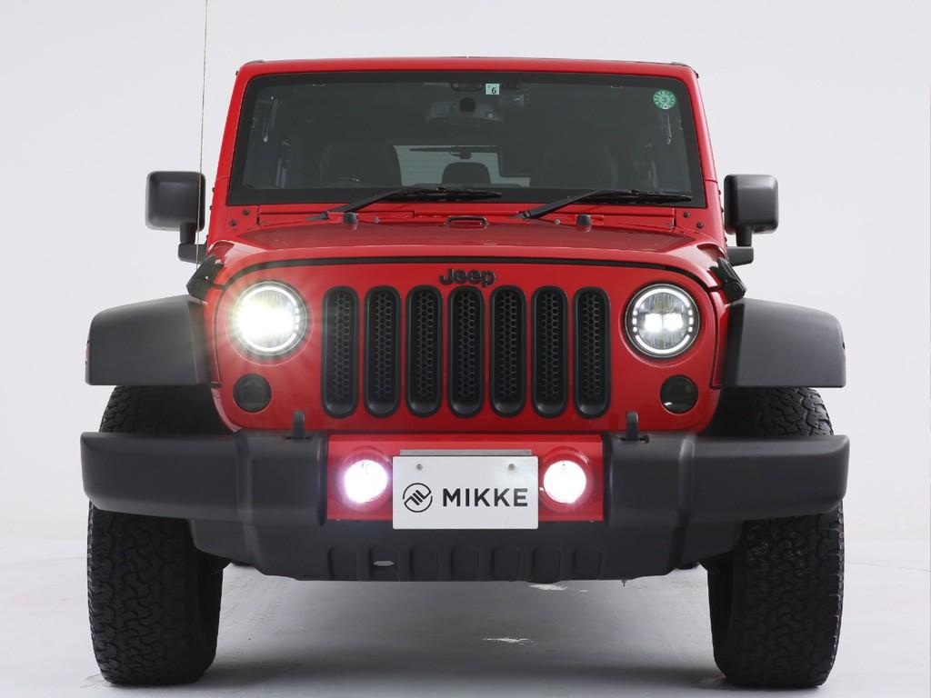 ヘッドライトは社外の明るいタイプに変更済み!夜道を明るく照らしてくれます!