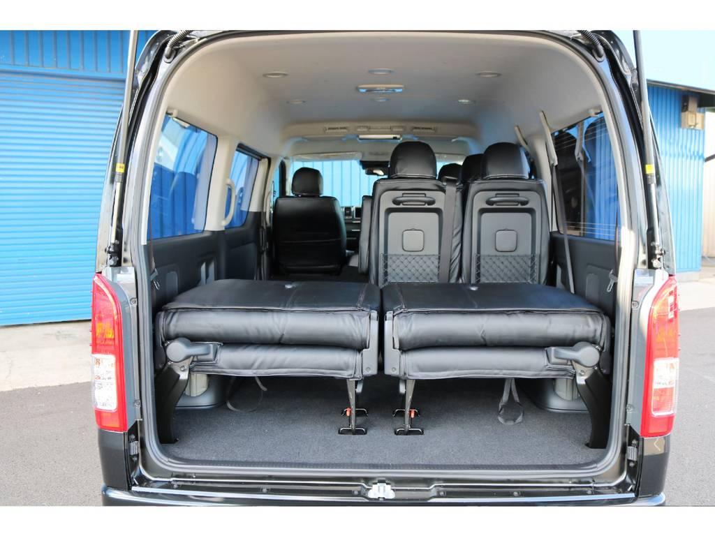 片方のみ折り畳みも可能です! | トヨタ ハイエース 2.7 GL ロング ミドルルーフ 4WD TSS付