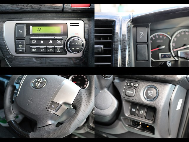 トヨタ・セーフティ・センス搭載!プリクラッシュセーフティシステム&レーンディパーチャーアラート!   トヨタ ハイエース 2.7 GL ロング ミドルルーフ 4WD TSS付 Ver2