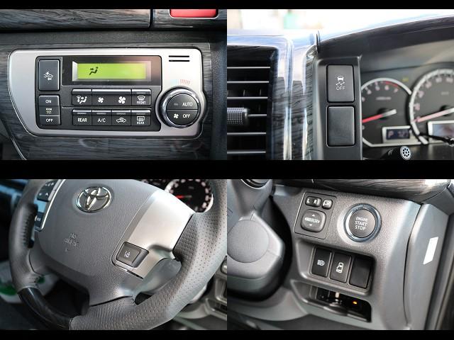 プリクラッシュセンサーやレーンディパーチャーアラート、オートマチックハイビームなど新機能装備♪ | トヨタ ハイエース 2.7 GL ロング ミドルルーフ 4WD TSS付