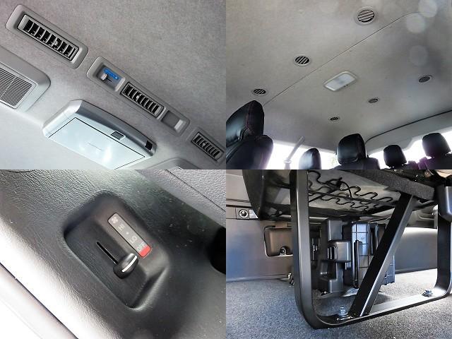 リアクーラー&ヒーター標準装備♪ | トヨタ ハイエース 2.7 GL ロング ミドルルーフ 4WD TSS付