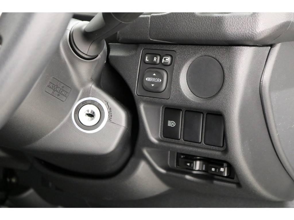新型はメーターもオプティトロンメーターになっております!トヨタ・セーフティ・センス搭載車です! | トヨタ ハイエースバン 2.8 DX ワイド スーパーロング ハイルーフ GLパッケージ ディーゼルターボ 4WD TSS付