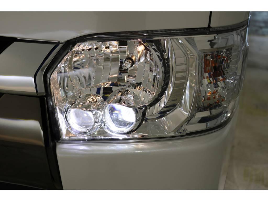 特別仕様車標準装備のLEDヘッドランプ!