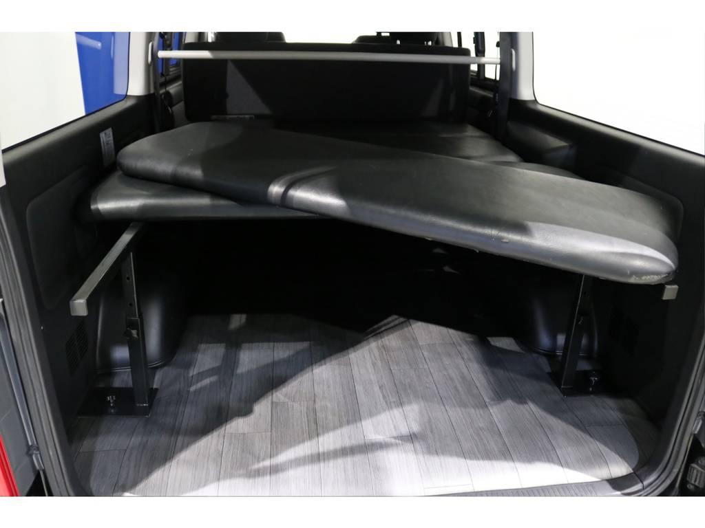 ベッドキットは高さ調整も可能です! | トヨタ ハイエースバン 3.0 スーパーGL ロング ディーゼルターボ 4WD 4型