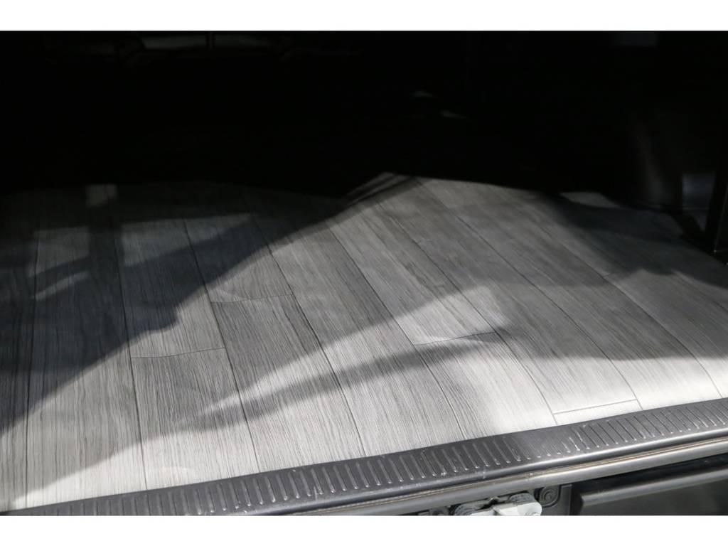 リアはCFカーゴマット! | トヨタ ハイエースバン 3.0 スーパーGL ロング ディーゼルターボ 4WD 4型