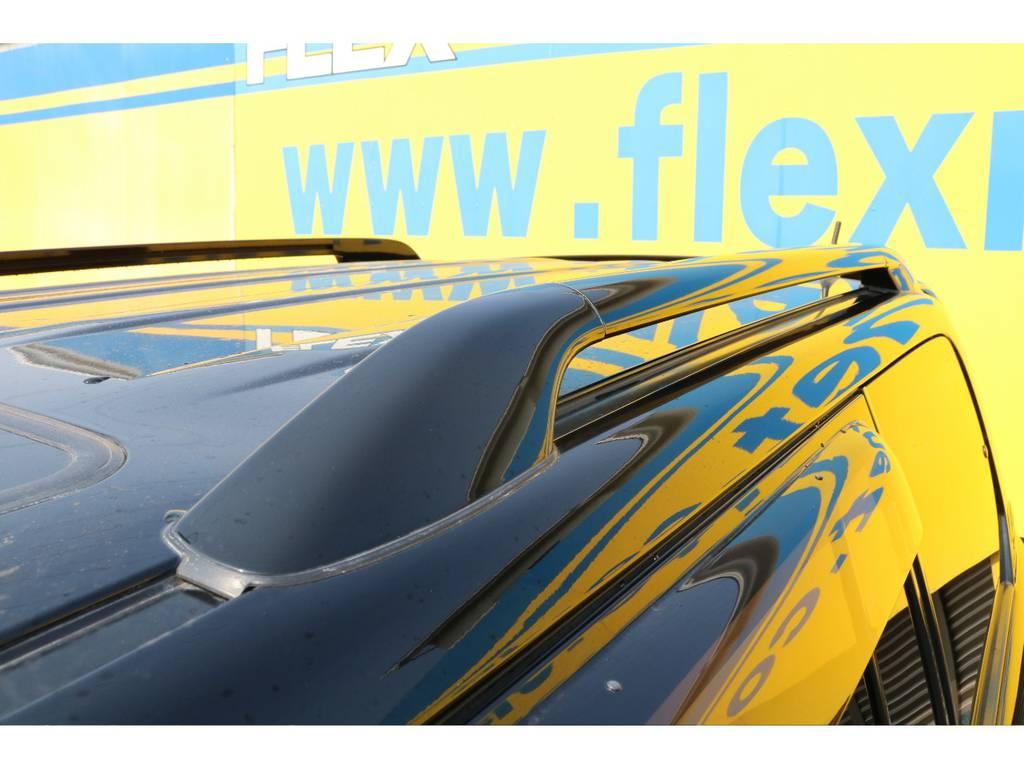 ボディ同色ルーフレールは標準装備♪ | トヨタ ランドクルーザーシグナス 4.7 60thスペシャルエディション 4WD 最終型 低走行9万km 特別仕様車