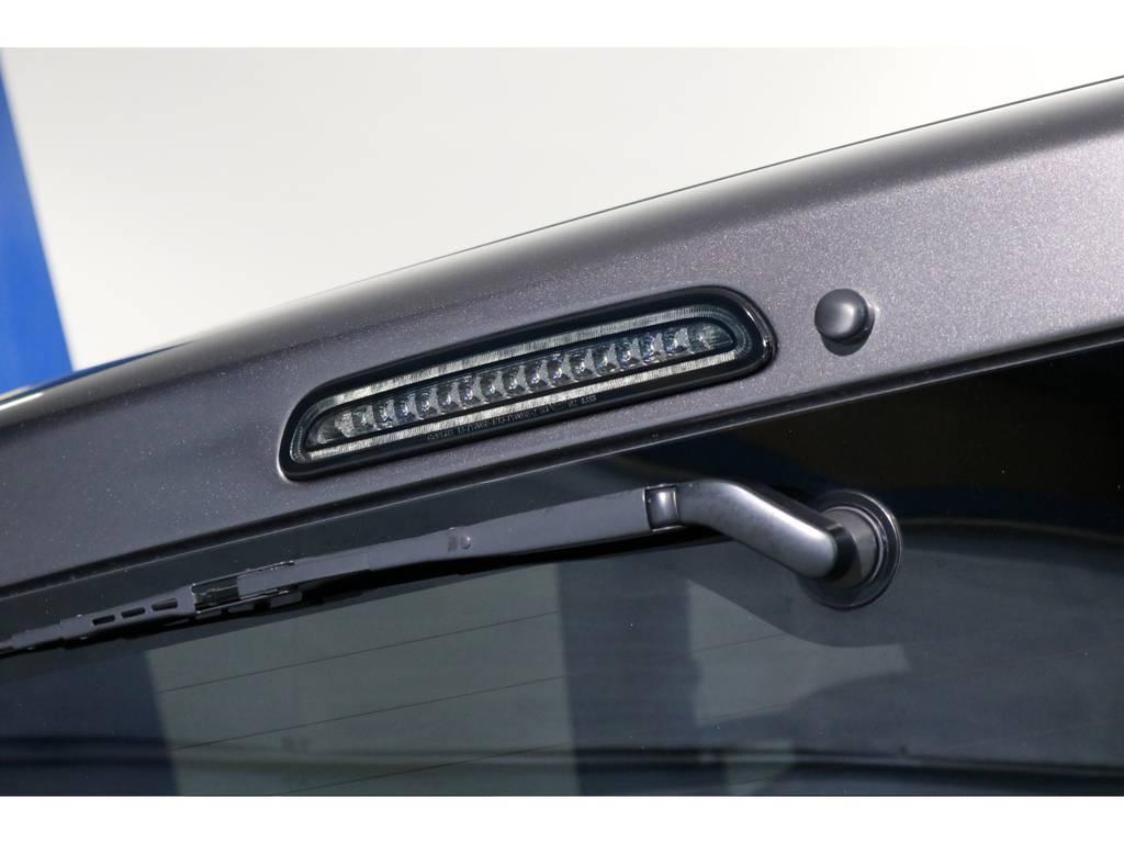LEDスモークハイマウントストップランプ! | トヨタ レジアスエース 3.0 スーパーGL ロングボディ ディーゼルターボ 4WD 4型前期モデル